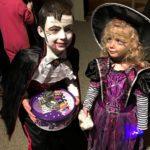 Spooky Fireworks winners - Connagh and Caitlin Carroll