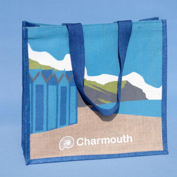 Charmouth jute bag